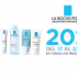 La Roche Posay ¡20% off! Del 17 al 23 Feb