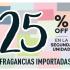 Fragancias Importadas ¡25% off en la 2º un!