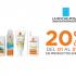La Roche Posay Solares ¡20% off!